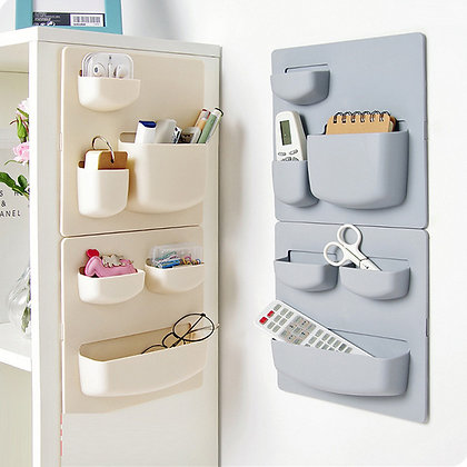 Home Storage Wall with Suction Cups