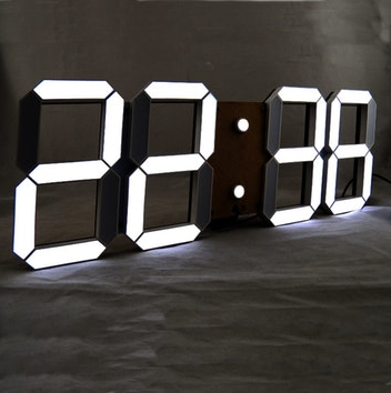 Giant Led Digital Clock