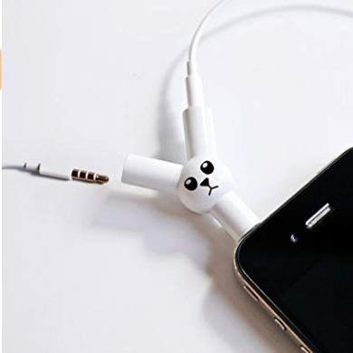Jack Rabbit Headphone Splitter