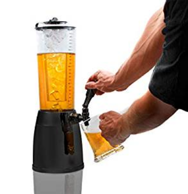 Beer Tower Dispenser with Tap
