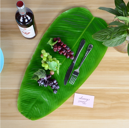 Exquisite Table Placement Mats Banana Leaf