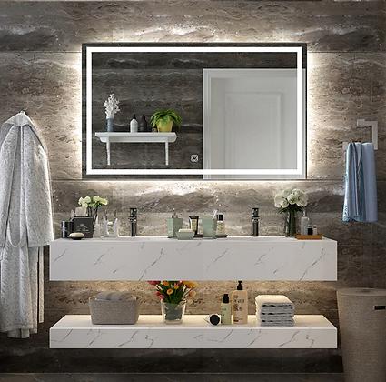 Wall Mount Led Lighted Bathroom Vanity Mirror