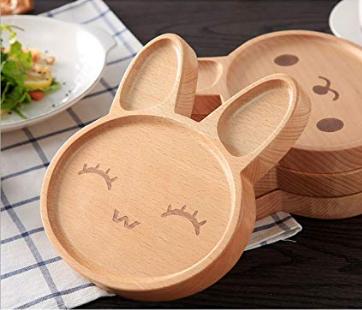 Rabbit Wooden Tray
