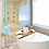 Thumbnail: Bamboo Bathroom Bath Tub Tray Table with Extended Book Tablet Holder