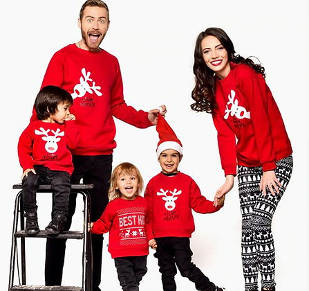 Christmas Matching Sweaters for the Whole Family
