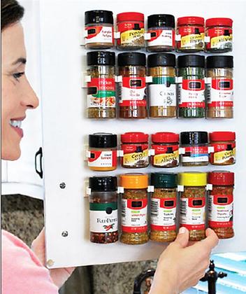 Spices Stick on Rack Holder Storage Organizer