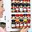 Thumbnail: Spices Stick on Rack Holder Storage Organizer