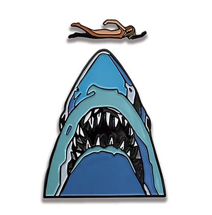 Jaws Movie Pin Set