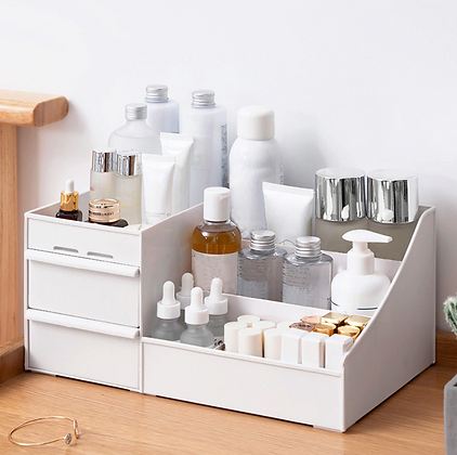 Cosmetic Storage Box Makeup Skincare Drawer Organizer