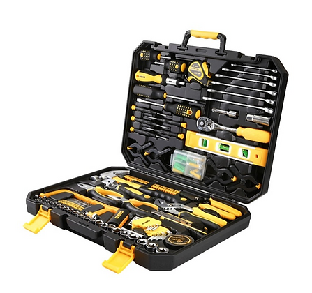 168pc Essential Hand Tool Set