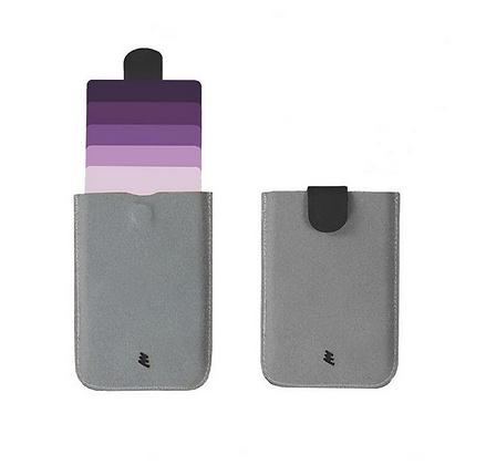 Ultra-slim Pull Tab Card Holder Wallet