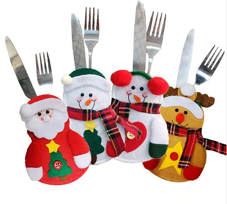 Christmas Cutlery Decoration