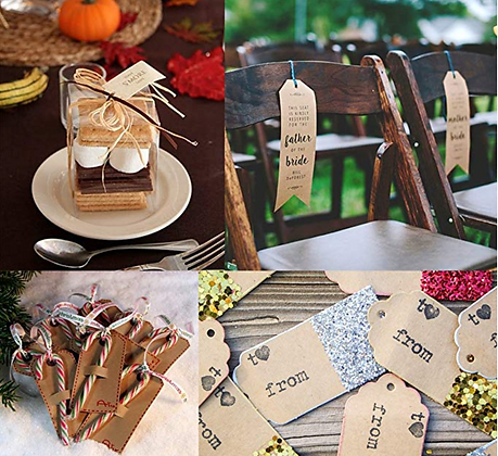 Present Gift Label Hanging Tag Label Party Favour