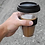 Thumbnail: Double Wall Glass Travel Coffee Mug