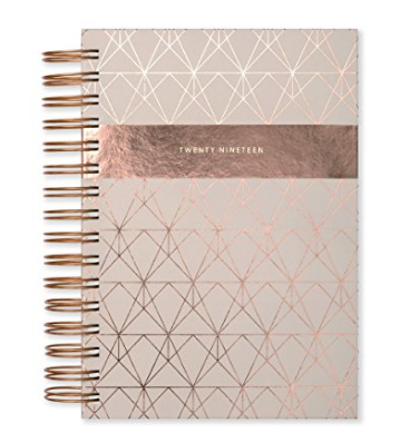 Rose Gold A5 Diary 2019