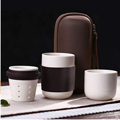 Ceramic Travel Tea Brew Cup