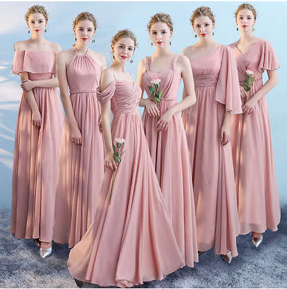 Bridemaid Dresses in Various Styles