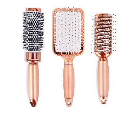 Rose Gold Hair Brush Set