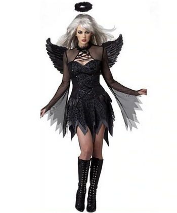 Black Angel Halloween Costume