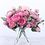 Thumbnail: 30cm Rose Pink Silk Peony Artificial Flowers Bouquet