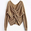 Thumbnail: Knitted Backless Sweater