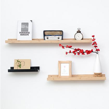 Wooden Wall Display Shelf