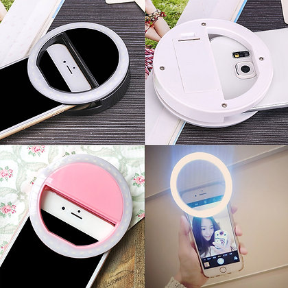 Phone LED Flash Ring Clip for Selfies