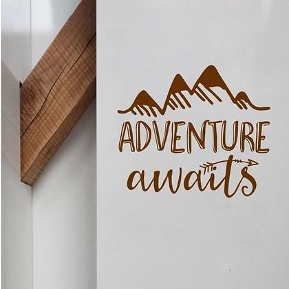 Adventure Awaits Wall Sticker