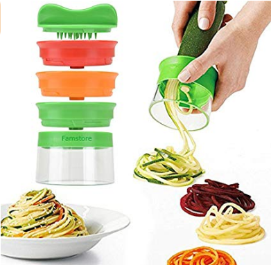 Handheld Vegetable Spiralizer Peeler