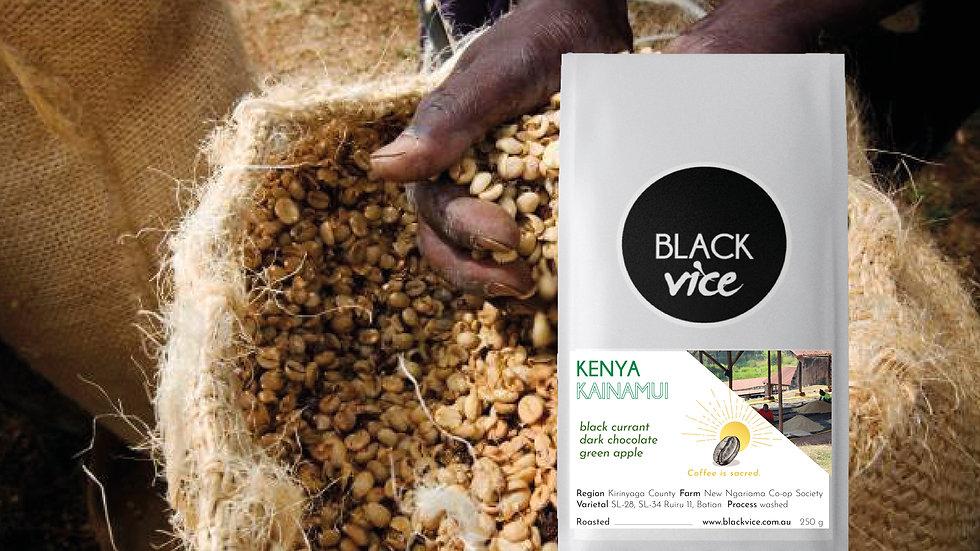 Kainamui   |   Kenya   |   washed   | SL-28, SL-34, Ruiru11, Batian  |   250g