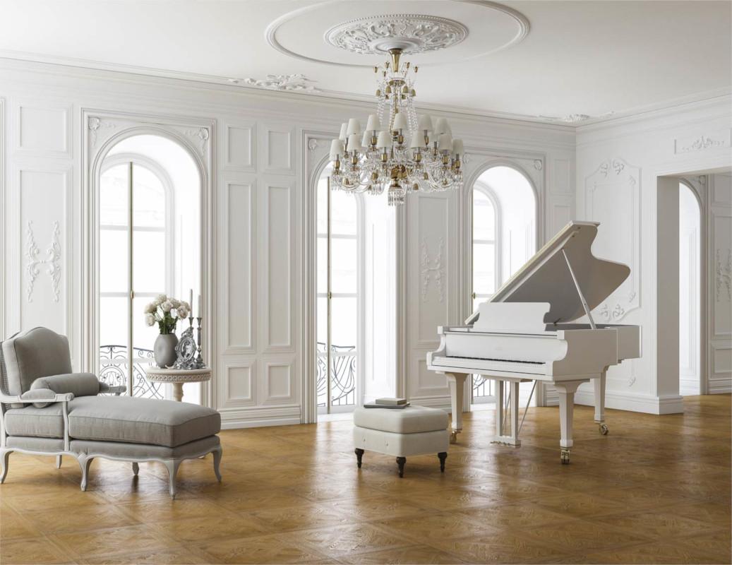 Private Residential Project Contemporary Parquet de Versailles Floor