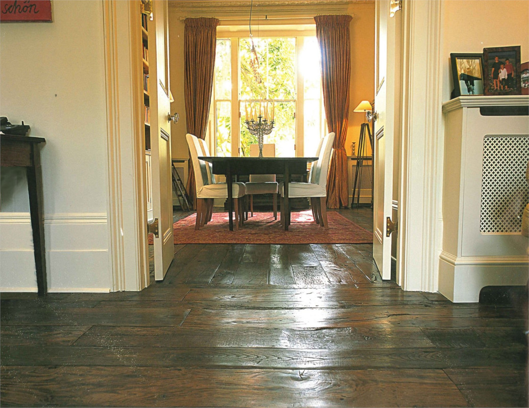 Private Residential Project Antique Plank Flooring Product - Manor