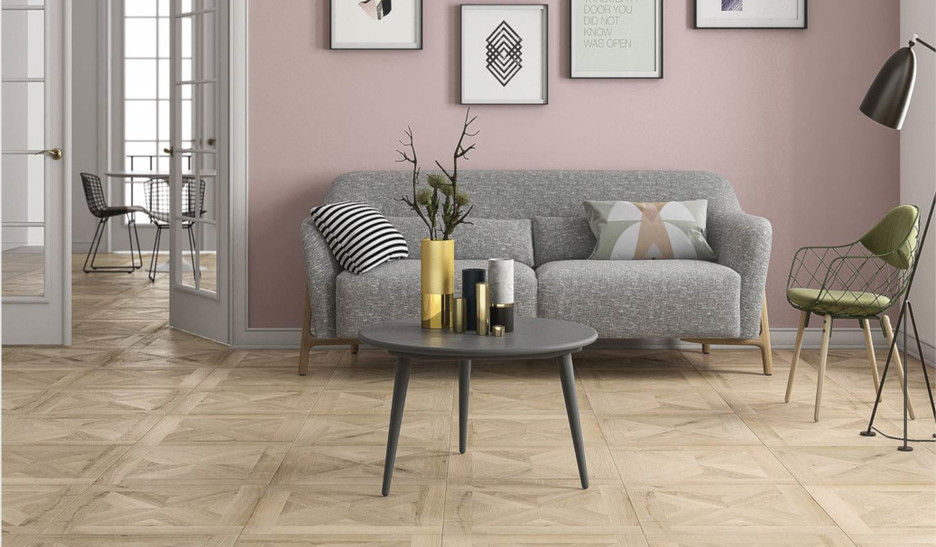 Private Residential Project Contemporary Parquet Floor
