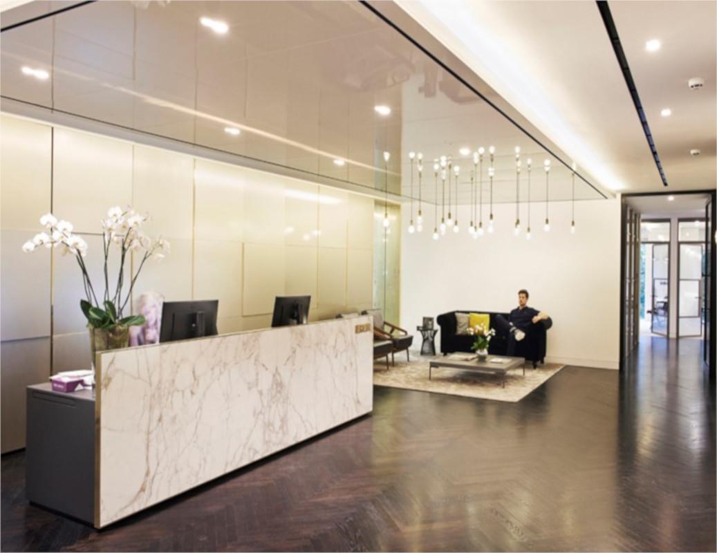 Helical Bar Contemporary Herringbone Flooring Product - Baltimore