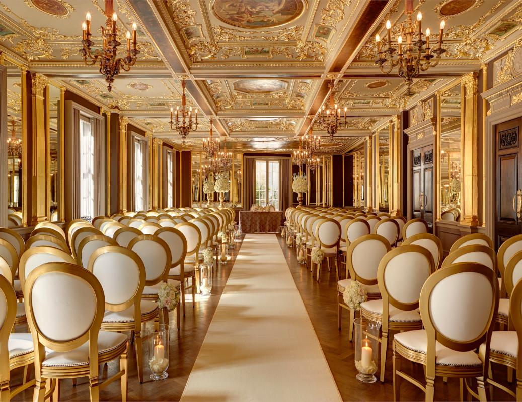 Hotel Cafe Royal- Pompadour Ballroom Traditional Herringbone Flooring Product - Verona