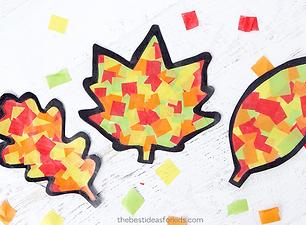 Leaf Suncatcher Craft - The Best Ideas f