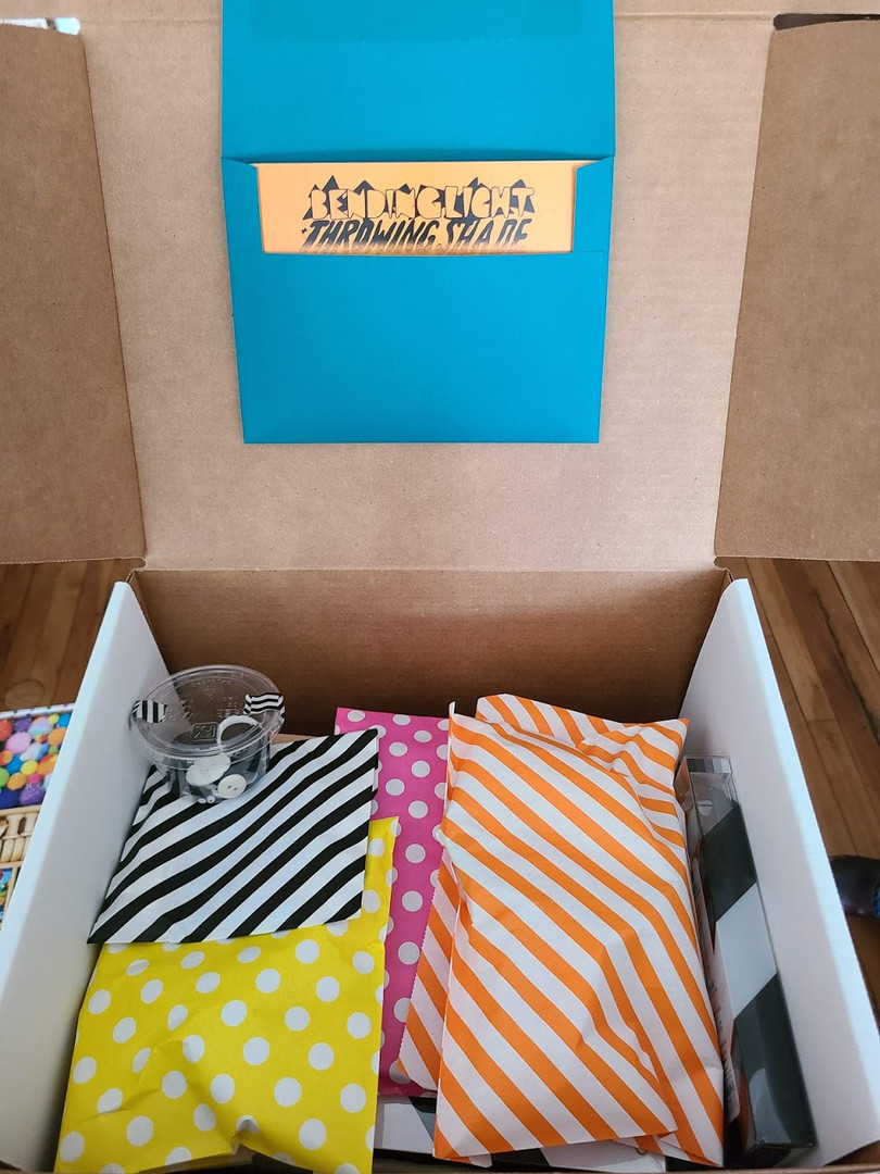 SAVI Week 2 Box. Ready to surprise and enrich a kiddo!
