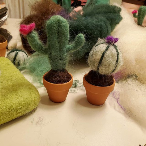 Felted Cacti