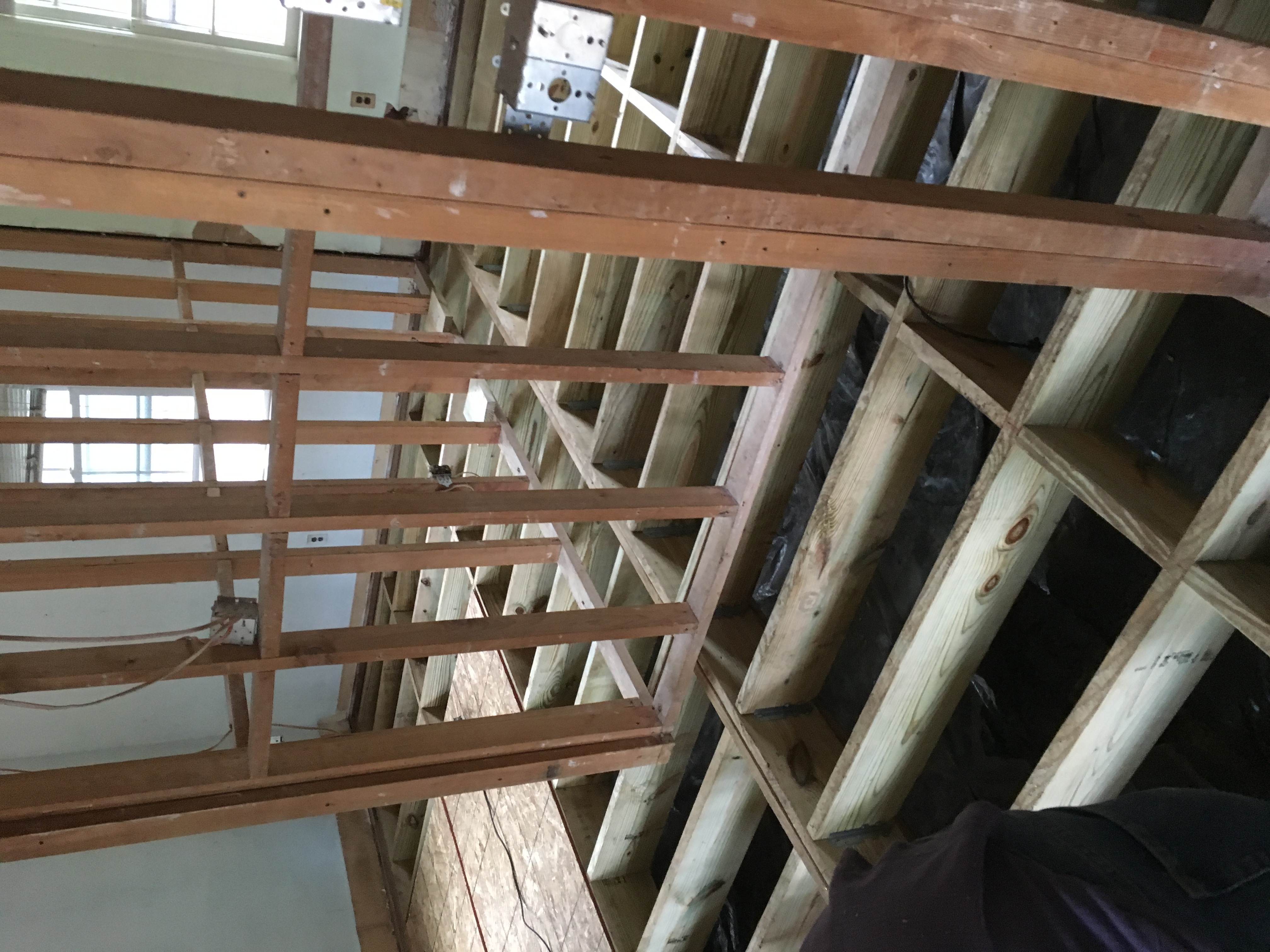 Replace floor joists