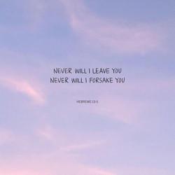 히브리서 13:5