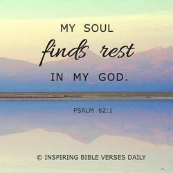 시편 62:1