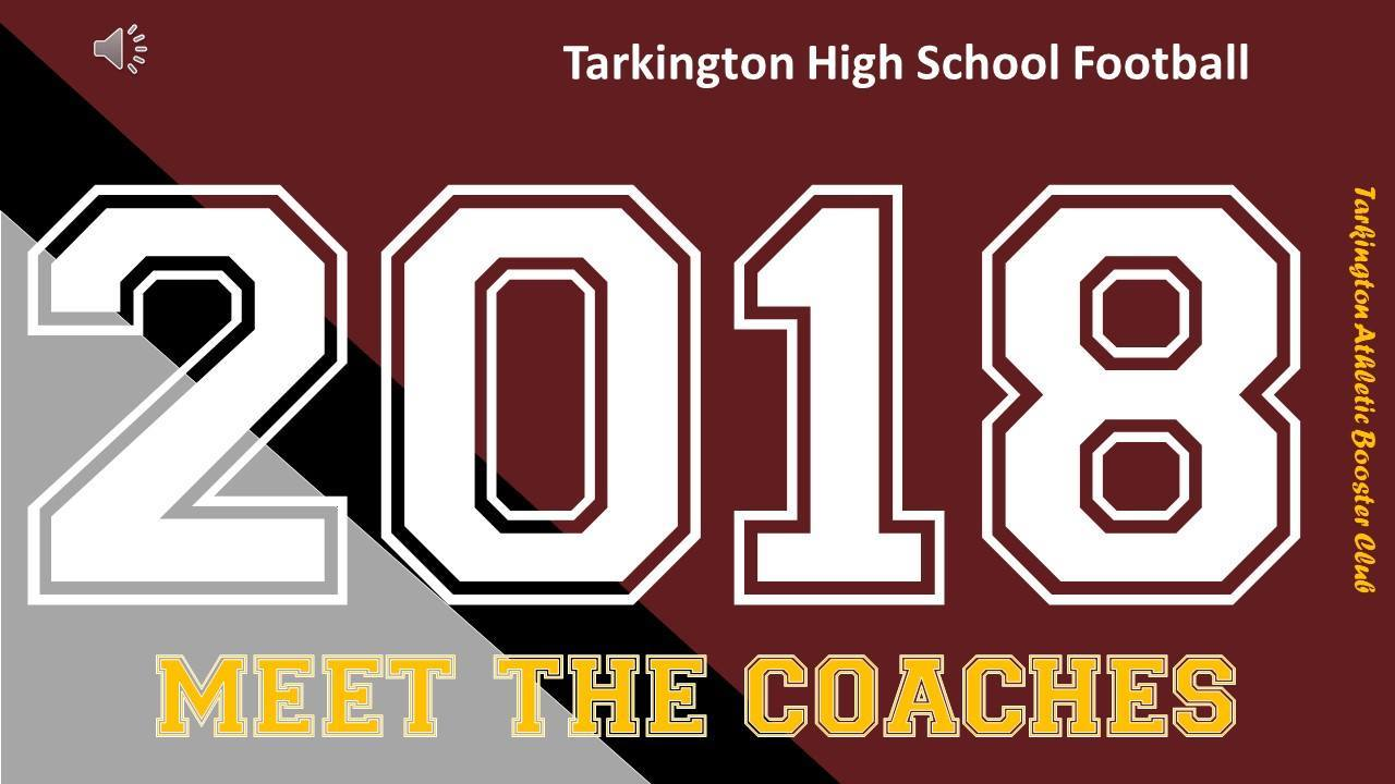 Tarkington Booster Club News