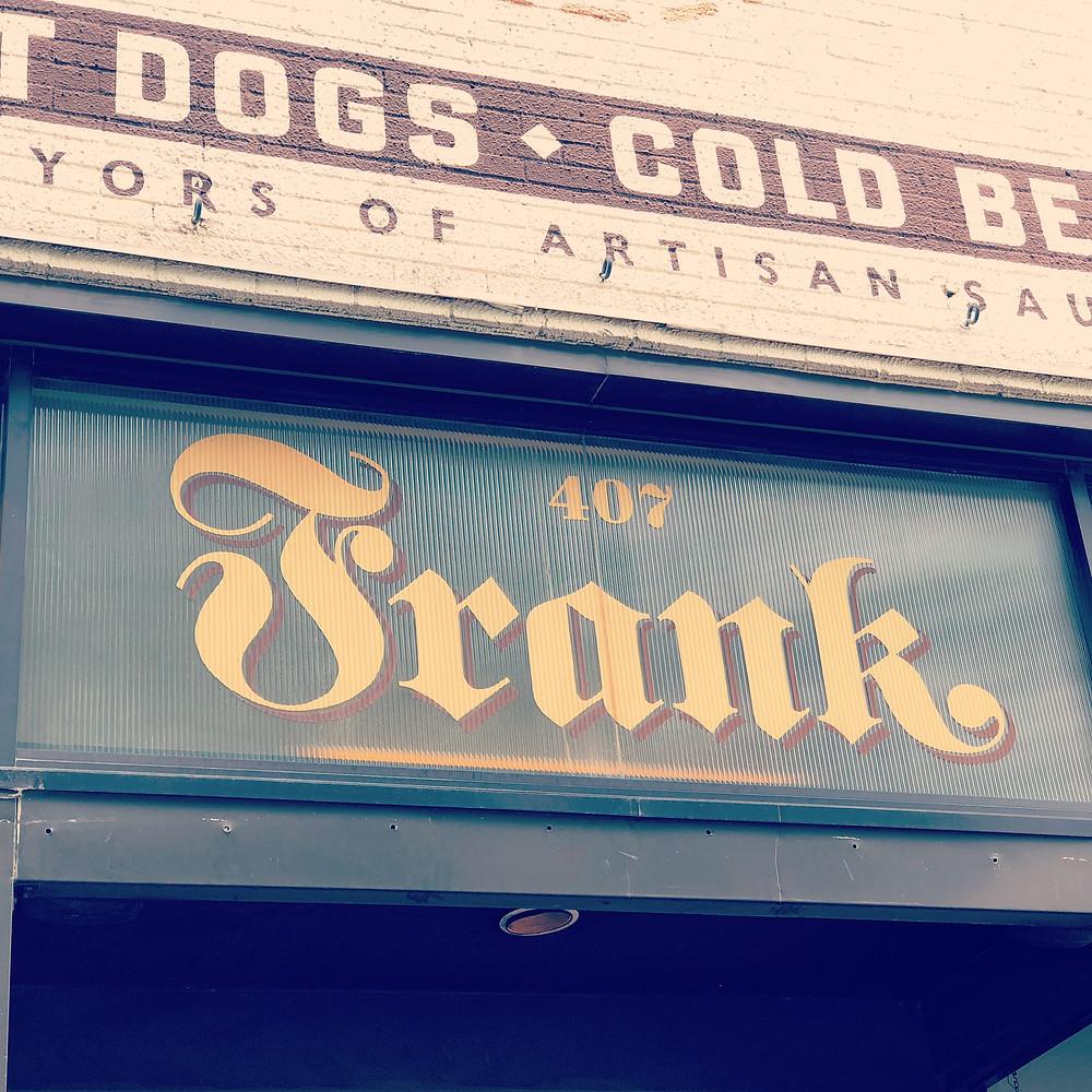 Frank Hot Dogs, Branding, Larson Marketing Project, Marketing, Social Media.