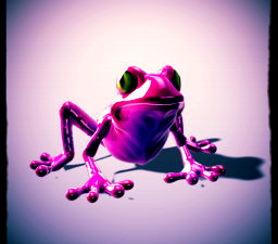 The Pink Frog (anxiety)