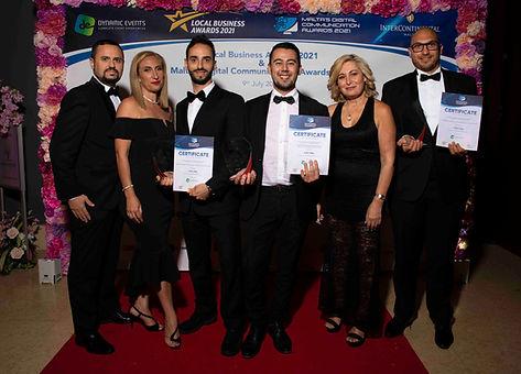 Valerio Fiocca con 4Sight Group ai Malta's Digital Communication Awards 2021