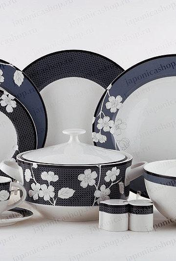 """Столовый сервиз, 27пр., """"Сабина ночь"""", «Royal Porcelain», 9007/27003"""