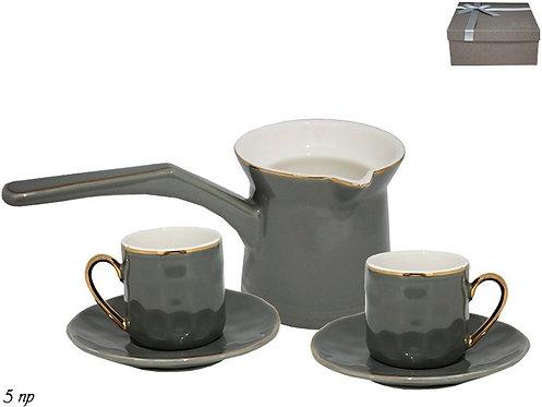 Кофейный набор из 5пр. в под.уп. Фарфор