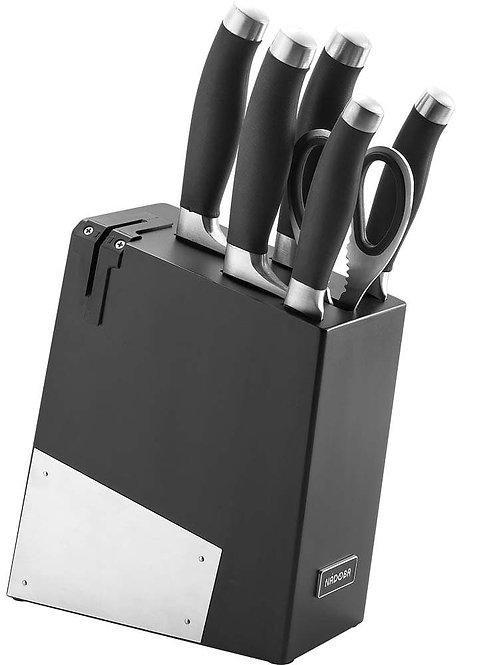 """Набор ножей Nadoba """"Rut"""", с подставкой, 7 предметов 722716"""