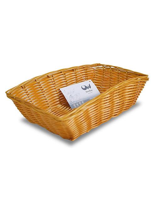 Корзинка плетеная Мульти 23х15х6,5см MJ-PP010BR