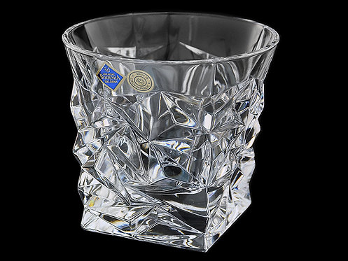 Набор стаканов для виски 350 мл Bohemia Jihlava Glacier хрусталь 6 шт